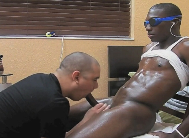 Black guys eating cum