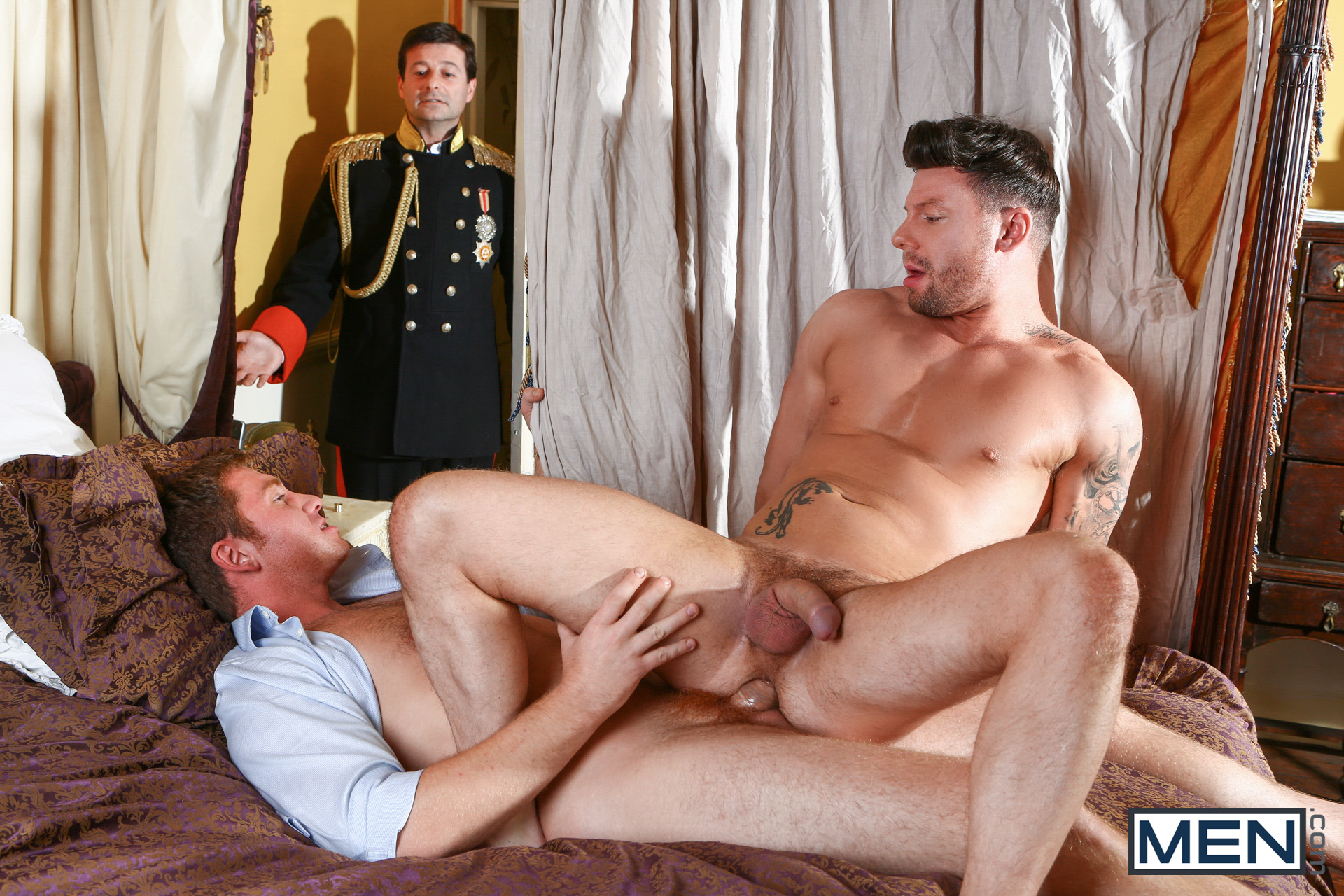 A Royal Fuckfest Gay Porn Free connor maguire & theo reid - gay - a royal fuckfest part 1: