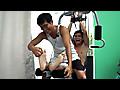 Laughing Asians: Ticklish Gym Buddy