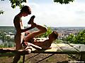 Gay Massage Table: Oscar Hart & Yuri Adamov
