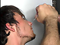 Cum-eating and a facial are the price one guy pays for his gloryhole experience