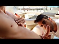 Jared Films Deepthroat4xxxxl Testing His Skills Out On Big C: Part 2