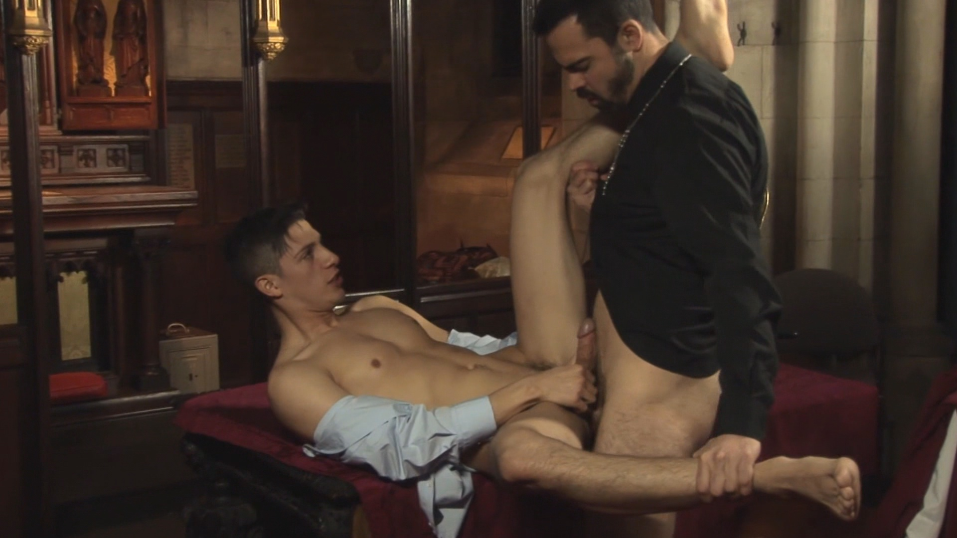 Choir boy blowjob gay kellan lane fucks 5
