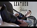 Gentlemens Closet: Leather Sheer 01