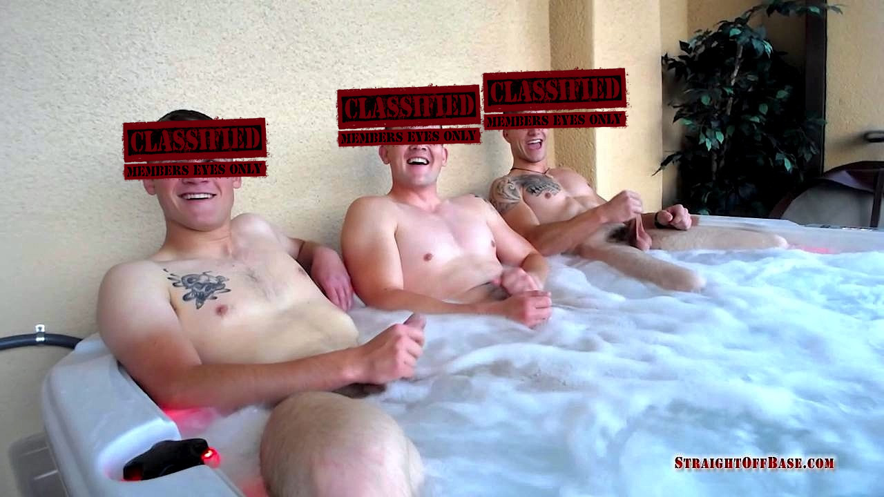 Jerk off in jacuzzi