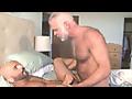Furry Older Dude Plows Muscle Studs Ass