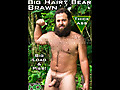 Island Studs: Uncut Hairy Bear Big Brawn