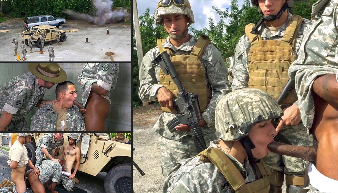 Bisexual soldier porn