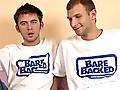 Barebacked: Hot gay Cum