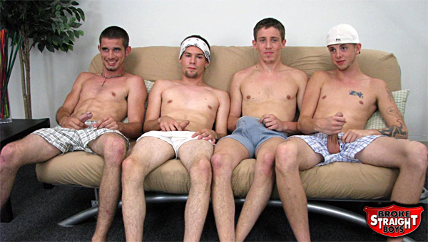 Straight boys bang