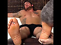 Antonio's Big Feet Worshiped