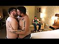 Stocky Dudes: Finn Sparx, Frankie Eze & Rayne Raptor