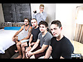 Johnny Rapid, Will Braun, Brendan Phillips, Wesley Woods & Tobias