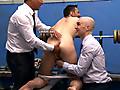 CMNM: Power groping his big full balls