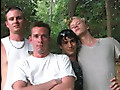 Johnny Molokai, Randall Lakes, Cody Miers and Danny McCoy