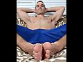 Rocky's Gym Socks & Feet