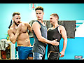Damon Heart, Logan Moore & Mars Gymburger