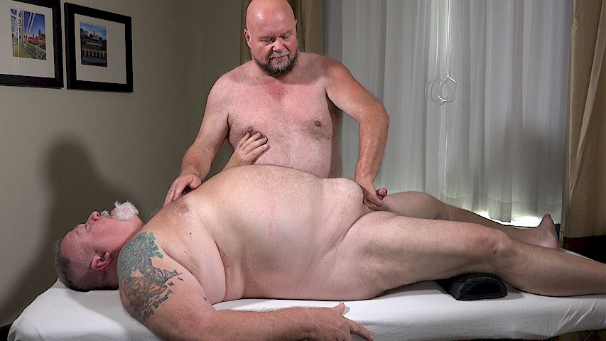 The Daddy Masseur - Gay - A Big Daddy Orders Up A Massage -8439