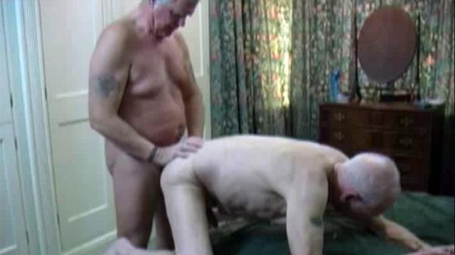 Mature men fucking each other