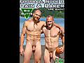 Island Studs: Bain & Baker - Football Nude