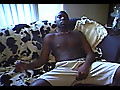 Ebony Knights: Blindfolded Gay Sex In A Hotel