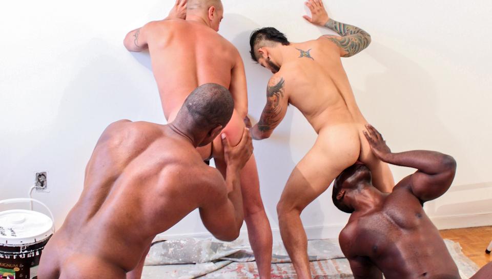 Next door ebony nubius aaron ridge gay improbable!