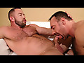 Brad Kalvo Unloads All Over Shay Michaels' Hole