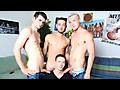 Circle Jerk Boys: Blake Savage, Jason Ackles, Kaydin Bennett & Billy Ramos