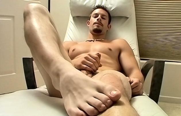 Hot jock feet