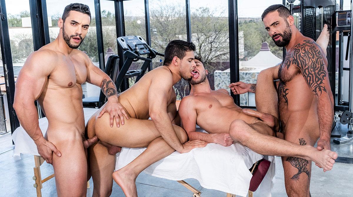 Arad Winwin Porn Videos Bareback arad winwin, rico marlon, edji da silva & allen king - gay