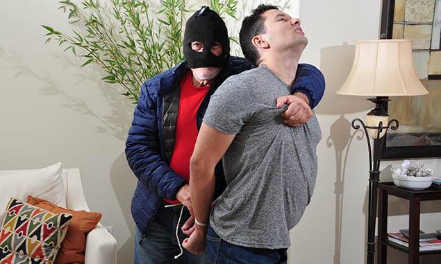 Gay porn burglar