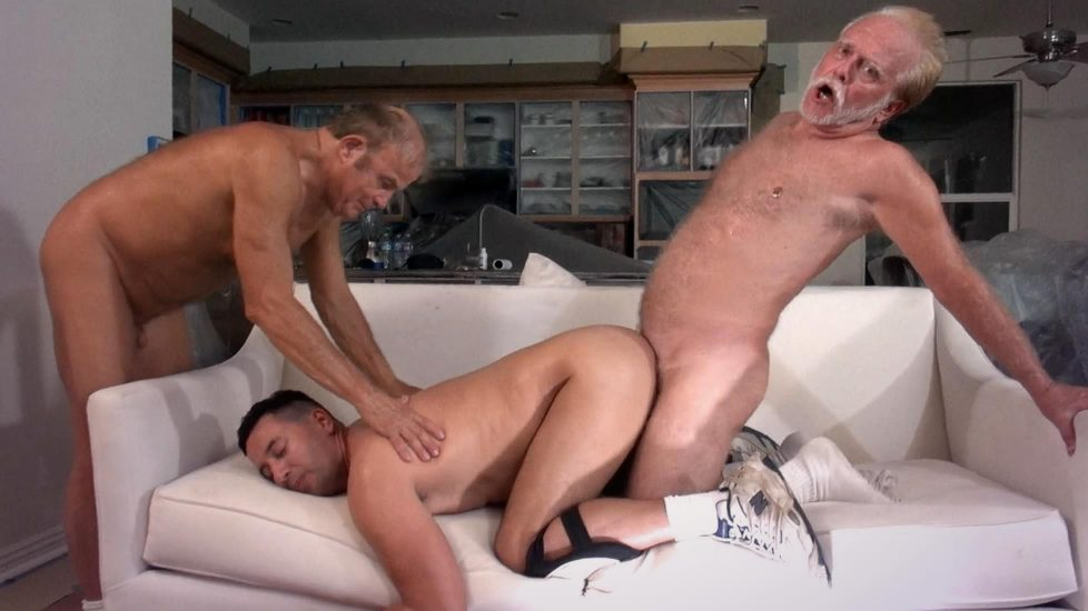 Group gay jerk off the vampire screw