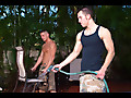 Brad Star , Dylan Hauser in Men Hard at Work