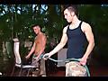 Men Hard at Work: Brad Star , Dylan Hauser in Men Hard at Work