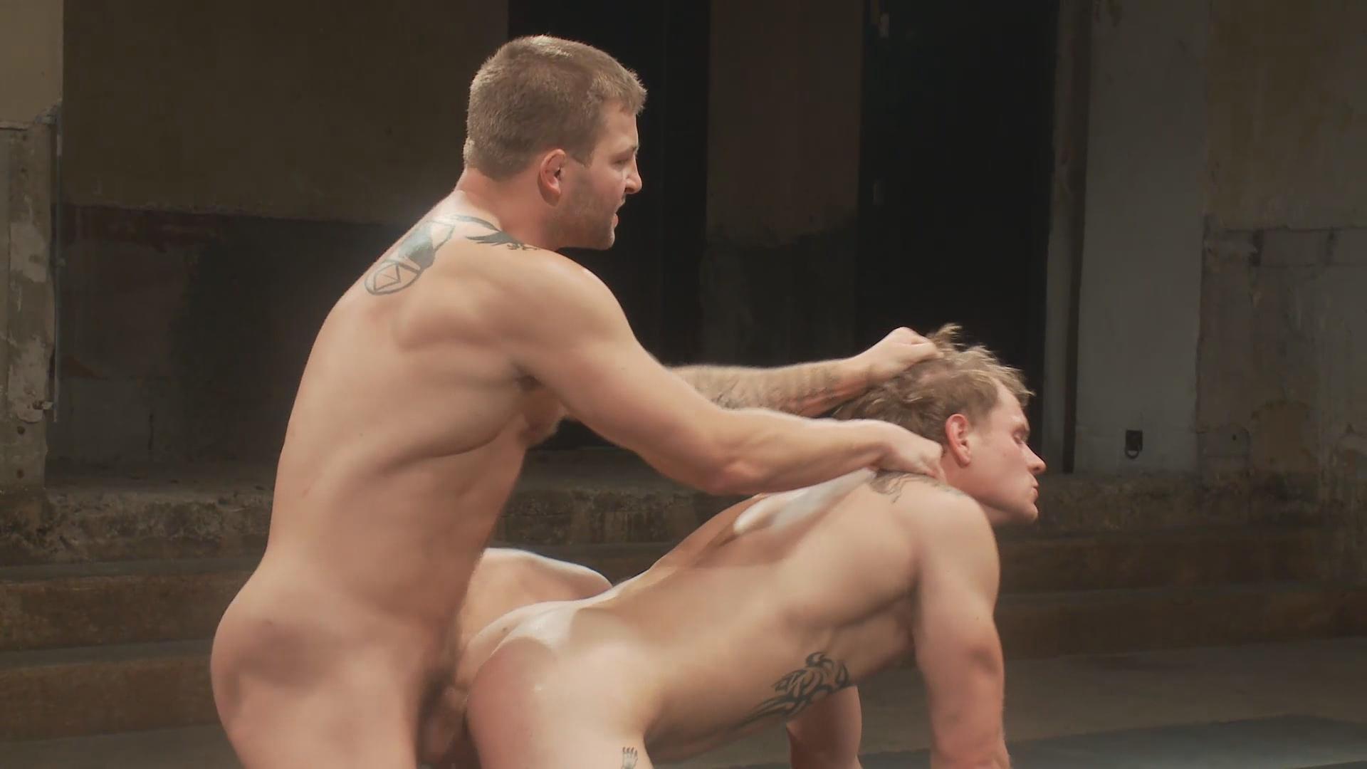 Wrestling gay porn stars