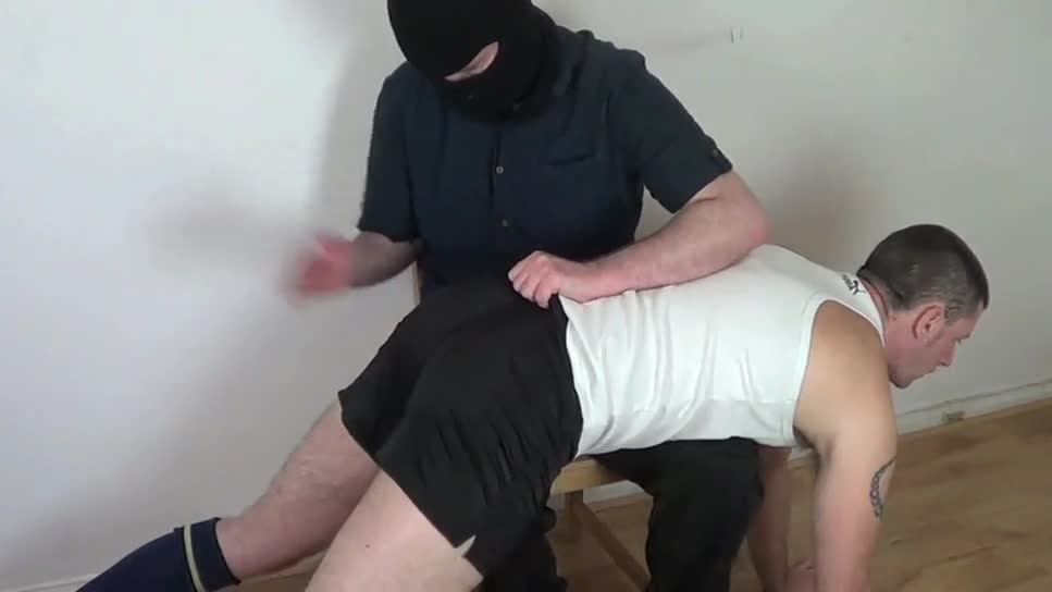 ManSurfer Footballer Spanked - Tommy