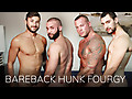 Bareback that Hole: Sean Duran, Scott DeMarco, Chase Klein & Fernando Del Rio