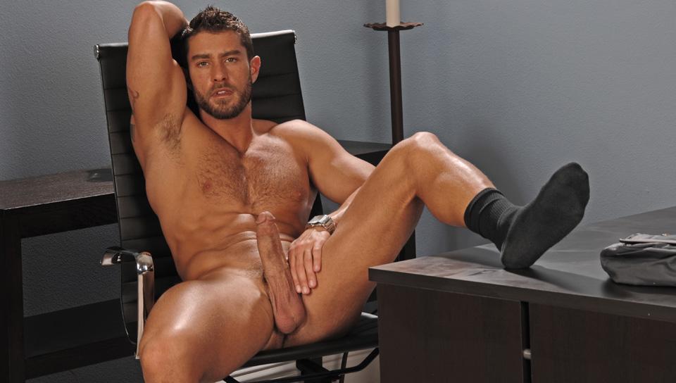 Sexy pornstar stud solo