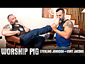 Hairy and Raw: Sterling Johnson & Kurt Jacobs