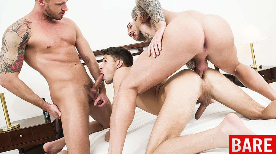 ManSurfer Dylan James, Logan Rogue & Dmitry Osten
