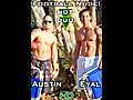 Hot Duo! Naked Muscle Football in Hawaii!