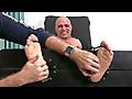 My Friends Feet: My Cousin Tony D Tickled