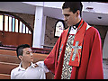 Raw Fuck: Pervy Priest Takes Cum Confessional
