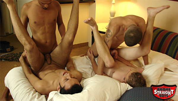 Possible straight boy orgy something