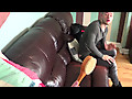 Straight Lads Spanked: Kevin - Bath Brush Beating