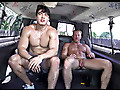 Bait Bus: Straight Axel Fucks Gay