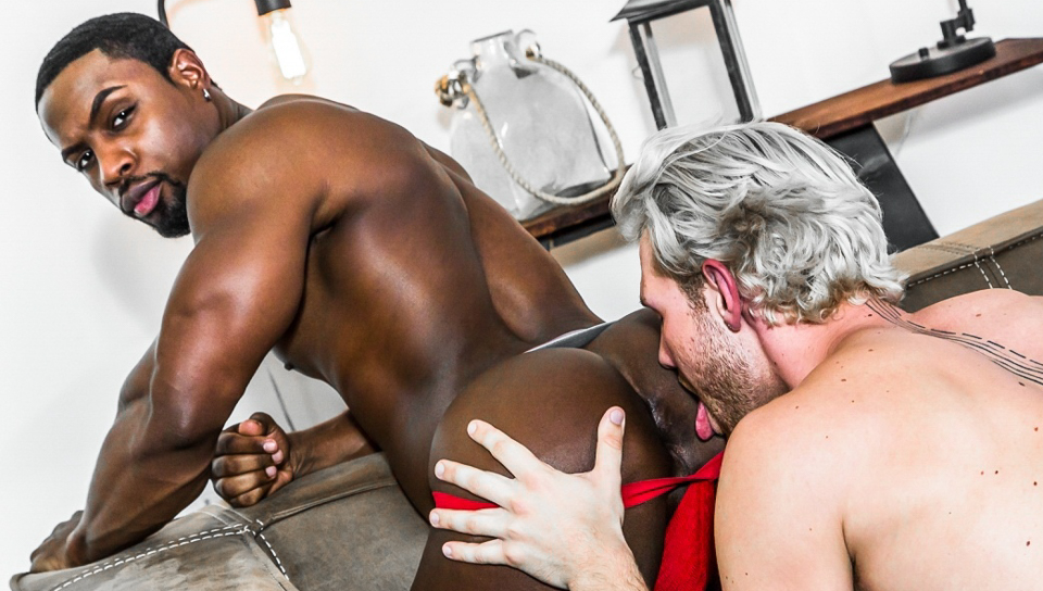 Deangelo Jackson  Jacob Peterson - Gay - Casting Couch -5578