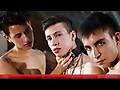 Young Bastards: Dave Andrew, Wilson Nouvak & Cesar Rose