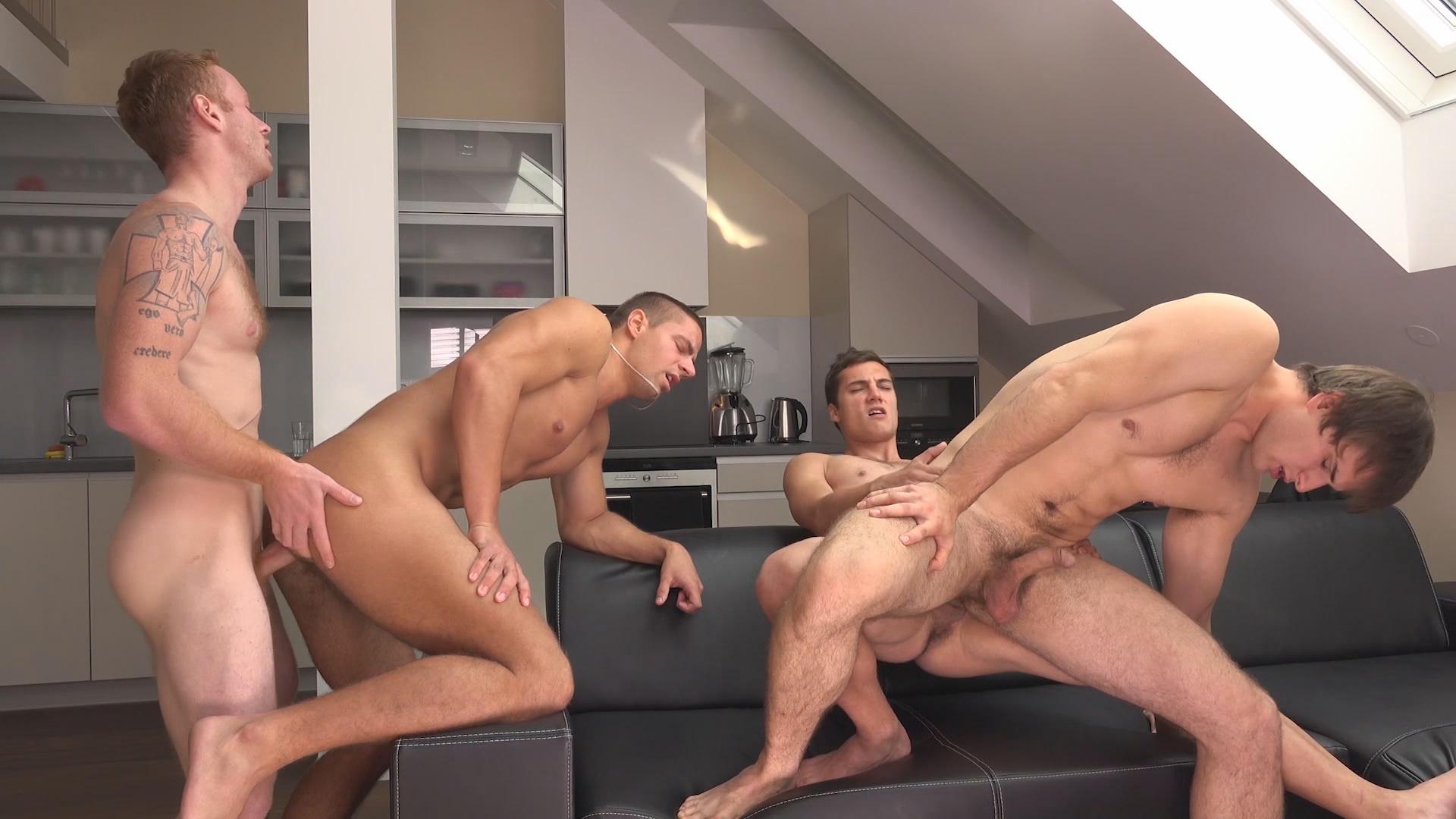 Arny Donan Orgy Gay Porn wank parties plus from prague 18 - gay - arny donan has visitors