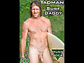Island Studs: Mature Furry Nudist Surfer Strokes Super Thick Beer Can Stick!